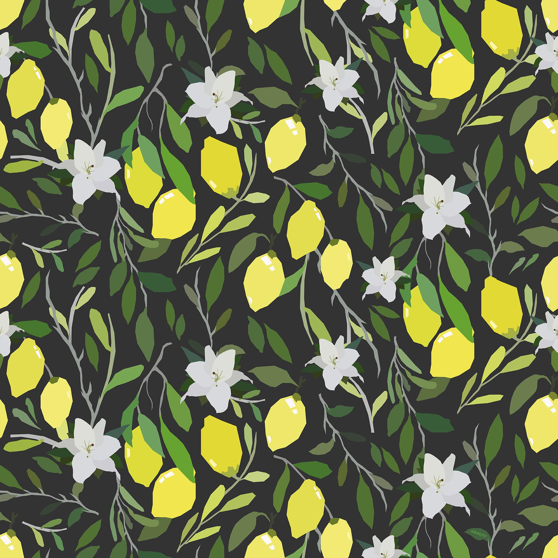 Lemon Fresh - Black