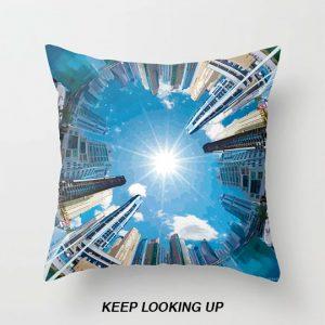 Throw Pillow - Keep Looking Up